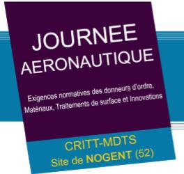Journée Aéronautique organisée par le CRITT-MDTS @ Site Haut Marnais | Nogent | Grand Est | France